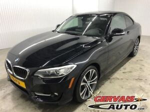 BMW 228 2 Series 2 Series i Cuir Toit Ouvrant MAGS 2015