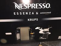 Nespresso & aeroccino 3 machine - Worth over £130