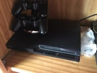 PS3 slim two controllers @ 54 games