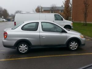 2000 Toyota Echo 2dr Cpe Manual Coupe (2 door)
