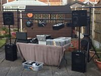 Full Dj Setup bargain price !!!!!!! All set up for vewing