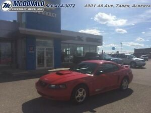2003 Ford Mustang   5 Speed, Low kms, Torch Red, Rare