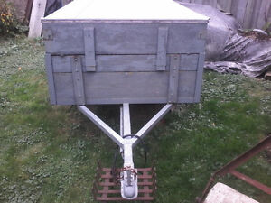 """Utility trailer 6""""×4""""×2"""" with 12"""" tires London Ontario image 2"""