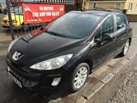2008 PEUGEOT 308 SE 120, MOT APRIL 2017, NOT ASTRA FOCUS MEGANE NOTE GOLF CEED