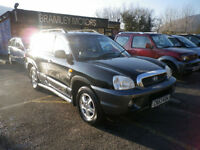 2003 Hyundai Santa Fe 2.7 auto V6 * EXCELLENT VALUE 4X4 *