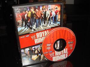 DVD-WRESTLEMANIA-ROYAL RUMBLE (LUTTE/WRESTLING)