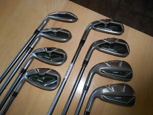 Ensemble de 8 fers TaylorMade RocketBallz - Condition A+++