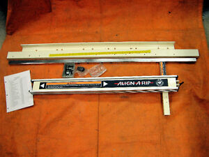 New Align-A-Rip Table Saw Fence