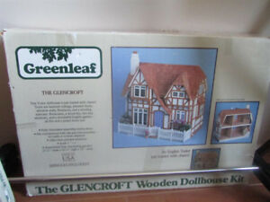 One English Tutor Wooden Dollhouse Kit for sale.