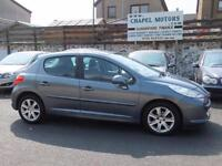 PEUGEOT 207 1.6HDI 90 SPORT TURBO DIESEL 2008 08 WITH FSH