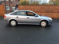 Vauxhall vectra, 57 Reg 1.8 petrol,showroom condition,£899,