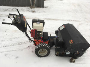Prices reduced power sweeper for sale