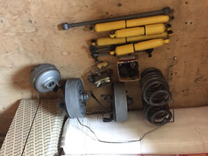 Brakes and suspention parts for 69-72 cheve 3/4ton pickup
