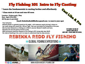 Fly Fishing Casting class 101