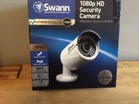 BRAND NEW BOXED Swann 1MP Platinum Digital Pro Series 1080p HD Bullet Cameras White NVR POE BARGAIN
