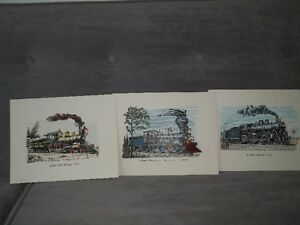 Several train books and prints suitable for framing Belleville Belleville Area image 5
