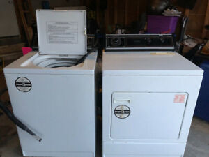 "Inglis Washer and dryer for sale Washer: 27.5"" W x 43.5"" H x 28."