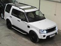 Land Rover Discovery 4 HSE 3.0SDV6 Auto in White BLACK PACK ** NOW S0LD **