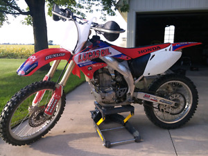 CRF450R trade for a CRF150F