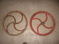 roues de fontes