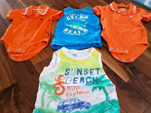 12 and 18 month boys tops $10 for all 4