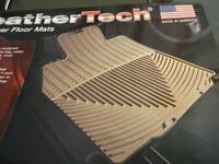 Weather tech all weather floor mats
