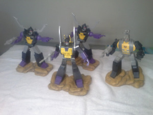 Transformers G1 Insecticons statues