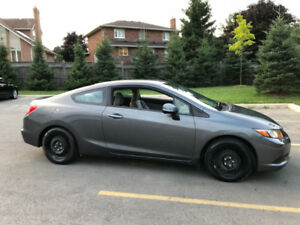 2012 Honda Civic Coupe (2 door)  $7,300 - low mileage