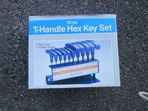 T -Handle hex key set .