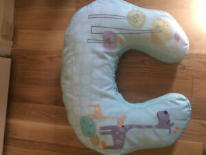 Breastfeeding pillow and nursing cover, post partum belly bands