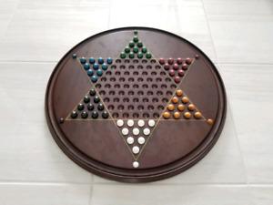 Wood Chinese Checker