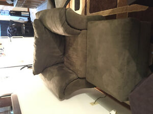 Couch with chair and ottoman