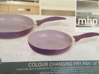 Colour changing frying pan set MHP