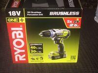 Ryobi Brushless 18v brand new £100
