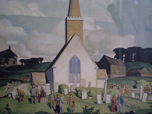 """A.J. Casson - """" Country Crisis """" -  Limited Edition Print Kitchener / Waterloo Kitchener Area image 9"""