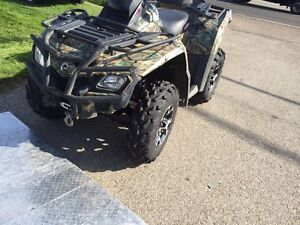 2009 Can Am Outlander  800cc Kitchener / Waterloo Kitchener Area image 1