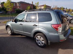 2011 Subaru Forester – Like New – Low KM (69K) $15,499 OBO