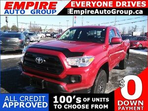 2016 TOYOTA TACOMA POWER GROUP * REAR CAM * LOW KM * LIKE NEW