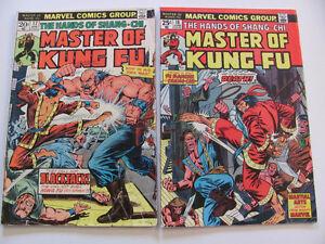 (1974-83) Master of Kung Fu comics  $1.00