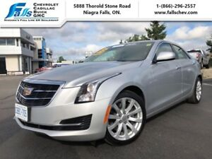 2017 Cadillac ATS Sedan 2.0 Turbo  LEATHER,HEATED SEATS,REARCAM,