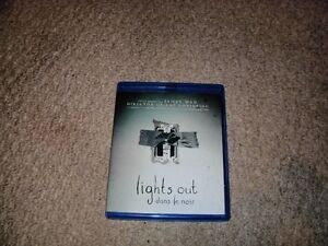 LIGHTS OUT BLURAY FOR SALE!