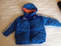 Adidas jacket, monsters university edition, age 2-3