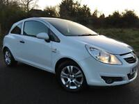 2010 10 Vauxhall Corsa 1.0i 12v ( a/c ) ecoFLEX Energy in White 3DR, Only 37k