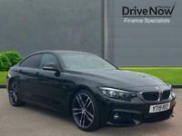 2019 BMW 4 Series 2.0 420d M Sport Gran Coupe Auto (s/s) 5dr Hatchback Diesel Au