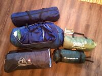 4 tents- 15 each or 4 for £40