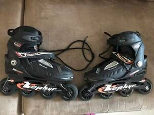 Traxart Zephyr 80MM 82A Wheels Rollerblades Size 8 Ultimo Inner Sydney Preview