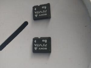 PS Vita Memory cards