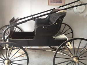 ANTIQUE BUGY, RESTORED to NEW CONDITION---NOW-$1200