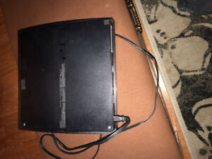 PS3 with charger