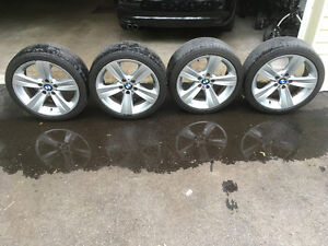 BMW Mag Wheels with tires
